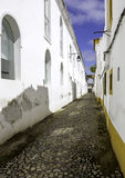 Portuguese Alentejo city of �vora old town. Royalty Free Stock Photos