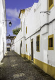 Portuguese Alentejo city of �vora old town. Stock Photography