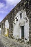 Portuguese Alentejo city of Évora old town. Stock Photo