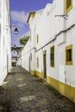Portuguese Alentejo city of Évora old town. Royalty Free Stock Image