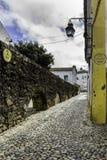 Portuguese Alentejo city of Évora old town. Stock Image
