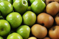 Portuguese Apples royalty free stock photos