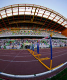 Portuguese Athletics Championship, stadium view Stock Image