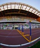 Portuguese Athletics Championship, stadium view Stock Image