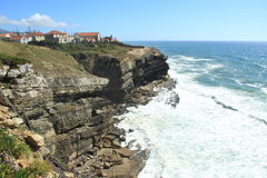 Portuguese Atlantic Cliff Stock Images