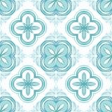 Portuguese azulejo ceramic tile pattern. vector illustration