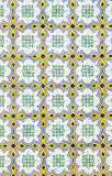 Portuguese Azulejo ceramic wall tiles Royalty Free Stock Image