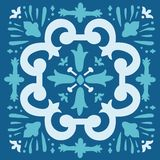 Portuguese azulejo tile Stock Photos