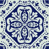 Portuguese azulejo tile Stock Photo
