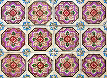 Portuguese azulejos tiles Stock Photography