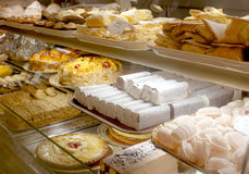 Portuguese bakery Stock Images