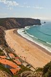 Portuguese beach; Stock Image