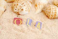 Portuguese beach Royalty Free Stock Image