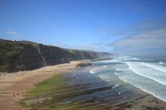 Portuguese Beach Stock Image