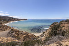 Portuguese Bend Cove near Los Angeles California Stock Image