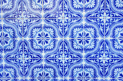 Portuguese blue tiles Stock Image