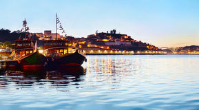 Portuguese boat, Portugal Royalty Free Stock Images