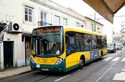 Portuguese bus Royalty Free Stock Photos