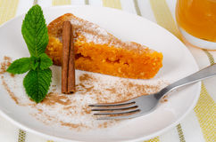 Portuguese cake Stock Photography