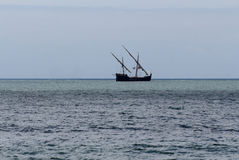 Portuguese caravel Royalty Free Stock Photography