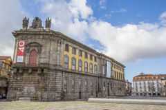 Portuguese Center of Photography in a former prison building in. Porto, Portugal stock photography