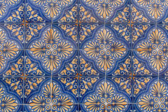 Portuguese Ceramic Tiles Stock Photo