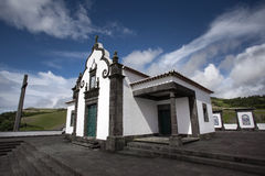 Portuguese Chapel Church Azores Sao Miguel Portugal Stock Photos