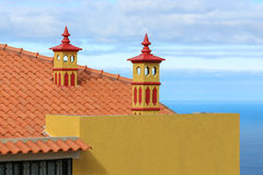 Portuguese chimney Royalty Free Stock Images