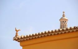 Portuguese chimney. Stock Image