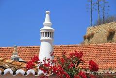 Portuguese chimney. Royalty Free Stock Photos