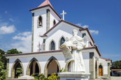 Portuguese christian catholic church landmark in central dili ea Stock Images