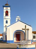 Portuguese Church. In a small rural village Stock Images