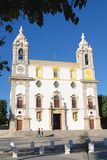 Portuguese Church. Church of Carmo, Faro, Portugal Stock Image