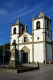 Portuguese church, way to Santiago de Compostela. Portugal Royalty Free Stock Photos