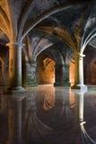 Portuguese Cistern. Manueline cistern of El Jadida Stock Image