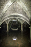 Portuguese cistern in the fortress of El Jadida,. Morocco stock photos