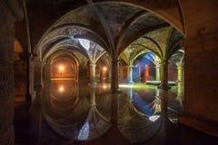 Portuguese Cistern In El Jadida, Morocco Stock Photos