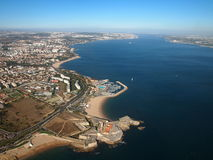 Portuguese coast and beach Stock Photography