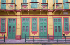 Portuguese colonial architecture Royalty Free Stock Photos