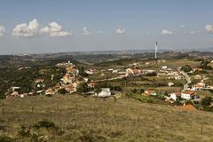 Portuguese Country View Stock Photo