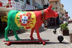 Portuguese Cow. Villamoura, Algarve Royalty Free Stock Image