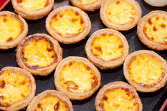 Portuguese Custard Tart Stock Images