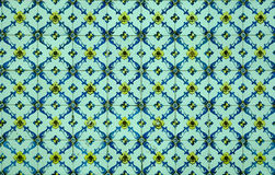Portuguese decorative tiles azulejos Stock Image