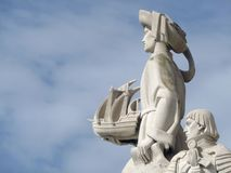 The portuguese discoveries monument Royalty Free Stock Images