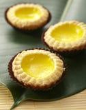 Portuguese Egg Tart Royalty Free Stock Photo