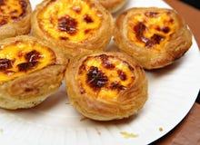 Portuguese Egg Tart Royalty Free Stock Image