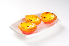Portuguese Egg Tart Royalty Free Stock Photo