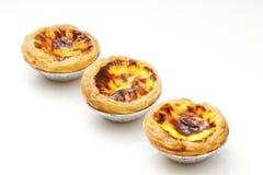 Portuguese egg tarts Royalty Free Stock Photos