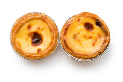 Portuguese egg tarts Stock Photos