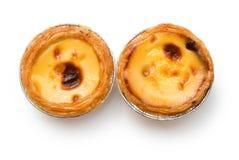 Portuguese egg tarts Stock Photos